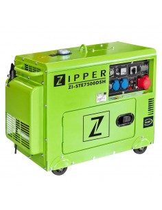 GRUPO ELECTRÓGENO ZI-STE7500DSH ZIPPER