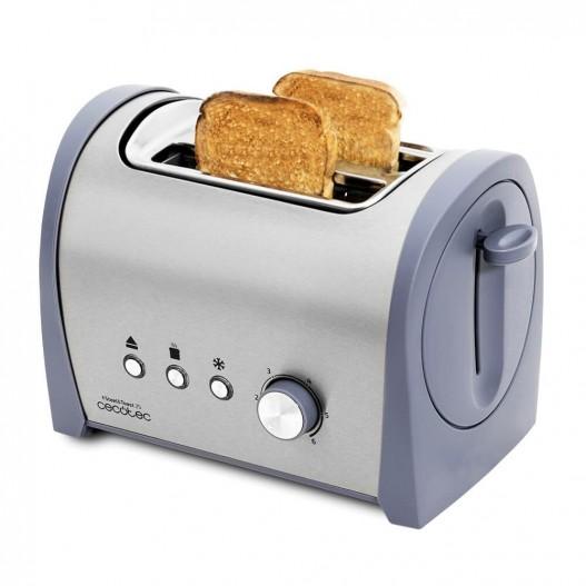 Cecotec Steel&Toast 2S Tostadora de pan