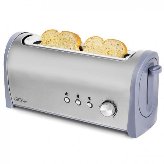 Cecotec Steel&Toast 1L Tostadora de pan
