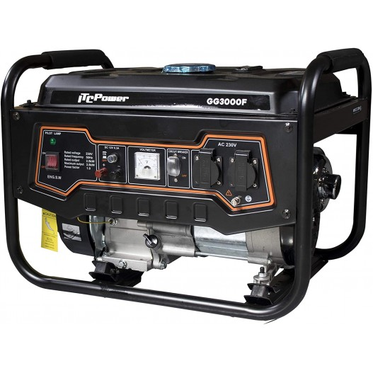 GG3000F Generador gasolina ITCPower...