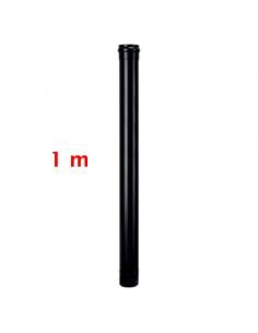 TUBO NEGRO 80mm 1 MT...