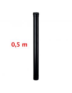 TUBO NEGRO 80mm 0,5 MT...