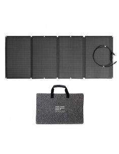 ECOFLOW PANEL SOLAR 160W Generador de bateria Solar Estacion energia portatil
