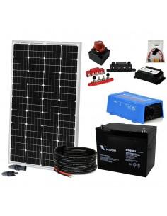 [KIT069] Kit aislada SolarPack OGP02 - 175W 12V, 500W/día - Fin de semana - Verano - ELECSUN
