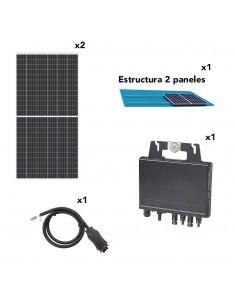[SCP0007] Kit solar autoconsumo directo 730W 4800Wh/dia con inyección cero opcional - TECHNO SUN