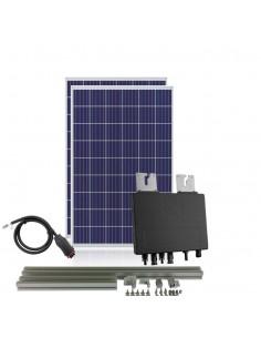 [SCP0005] Kit autoconsumo 730W con microinversor APSystems y 2 paneles 450W con estructura coplanar vertical - Techno Sun