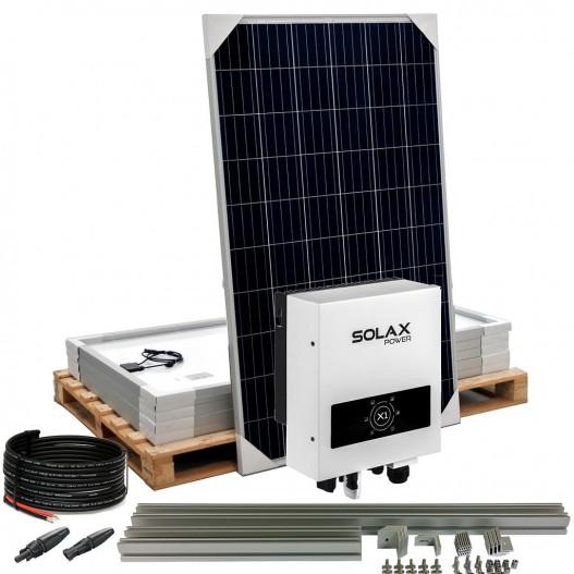 [KIT100] Kit autoconsumo SolarPack SCP06 1.1kW monofasico - SolaX