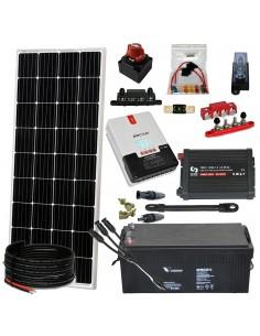 [KIT073] Kit aislada SolarPack OGP06 - 1500W 12v 2,7kW/dia Fin de semana - Verano - TECHNO SUN