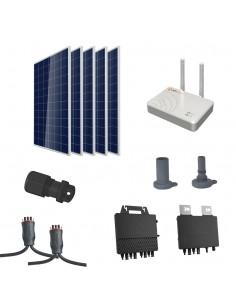 [SCP0045] Kit autoconsumo 1800W con microinversor APSystems y 5 paneles sin estructura - Techno Sun