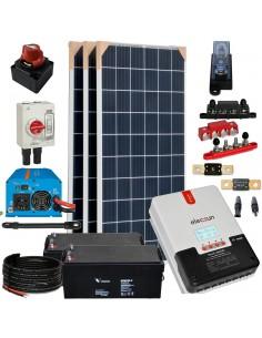 [KIT074] Kit aislada SolarPack OGP07 - 960W 24v 4,95kW/dia Fin de semana - Verano - TECHNO SUN