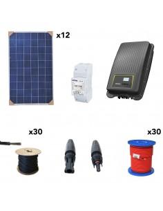 [KIT104] Kit autoconsumo SolarPack SCP10 3kW Monofásico - Kostal