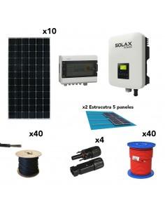 [SCP0035] Kit solar autoconsumo 3,6kW 18kW/dia SolarPack SCP0035 SolaX