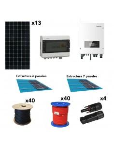 [SCP0028] Kit autoconsumo 4,6kW 23kW/dia SolarPack SCP0028 SOFAR