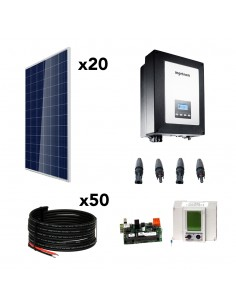 [KIT107] Kit autoconsumo SolarPack SCP13 5kW Monofásico - Ingeteam