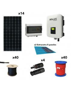 [SCP0038] Kit solar autoconsumo 5kW 26kW/dia SolarPack SCP0038 SOLAX