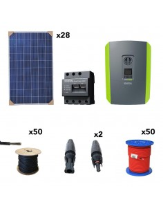 [KIT109] Kit autoconsumo SolarPack SCP15 7kW Trifásico - Kostal