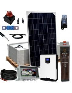 [KIT081] Kit aislada SolarPack OGP14 - 5kW 48v 15,6kW/dia Vivienda permanente - TECHNO SUN