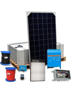 [KIT089] Kit autoconsumo SolarPack SCP02 3kW Multiplus 48/3000 + RESU 6.5 - VICTRON + LG