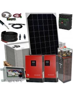 [KIT082] Kit aislada SolarPack OGP15 - 10kW 48v 21,78kW/dia Vivienda permanente - TECHNO SUN
