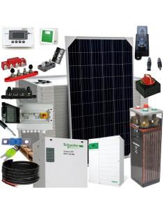 [KIT085] Kit aislada SolarPack OGP18 - 6,8kW 48V 24,3kW/día Vivienda permanente - TECHNO SUN