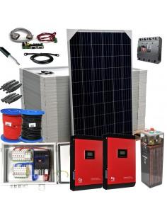 [KIT086] Kit aislada SolarPack OGP19 - 10kW 48v 36,3kW/día Vivienda permanente - TECHNO SUN