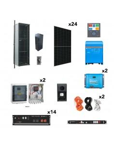 [OGP0020] Kit aislada SolarPack OGP0020 - 4,6kW 49kWh 45.000W/dia - vivienda permanente - TECHNO SUN