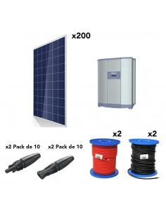 [KIT119] Kit autoconsumo 50kW 260kW/dia SolarPack SCP24 Trifásico - Delta