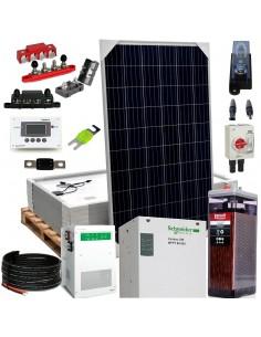 [KIT079] Kit aislada SolarPack OGP12 - 3,4kW 24V 13,75kW/día Vivienda permanente - TECHNO SUN