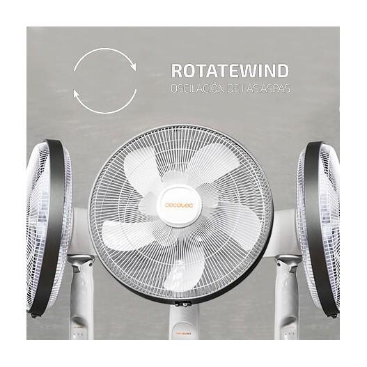 Cecotec ventilador de pie forcesilence 1010 extremeflow 05209