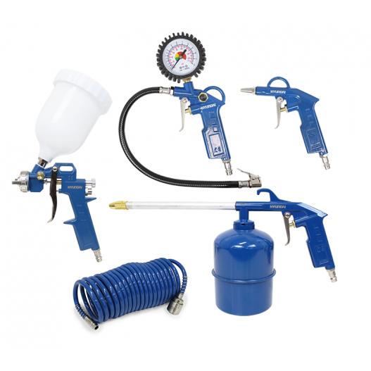 HY-55901 Kit herramientas aire 5 piezas Hyundai