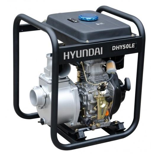 DHY50LE Motobomba diésel Aguas limpias Hyundai