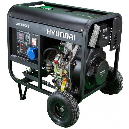DHY8500LEK Generador Diesel Pro Monofásico ( Abierto )
