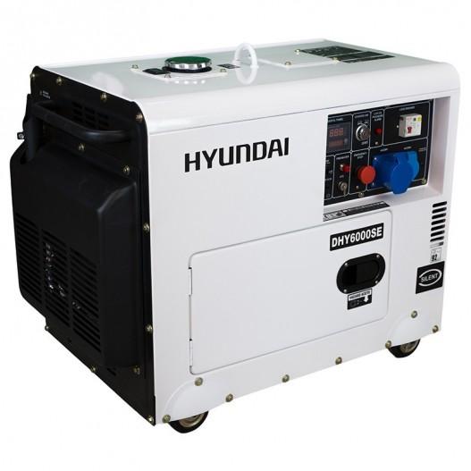 DHY6000SE Generador Diesel Pro Monofásico ( Insonorizado )