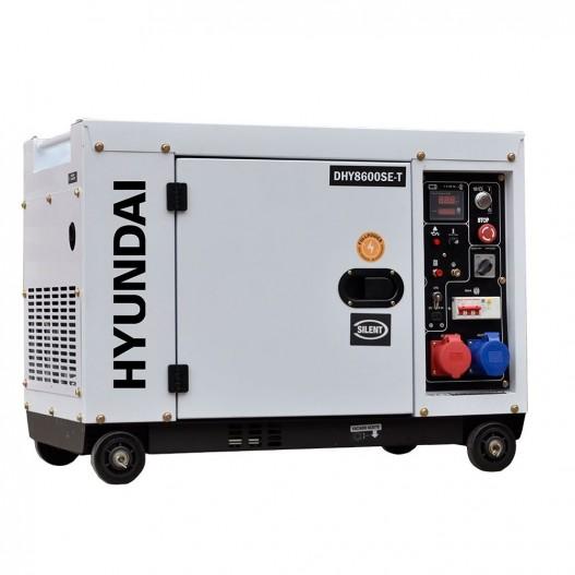 DHY8600SE-T Generador Diésel Insonorizado Full Power