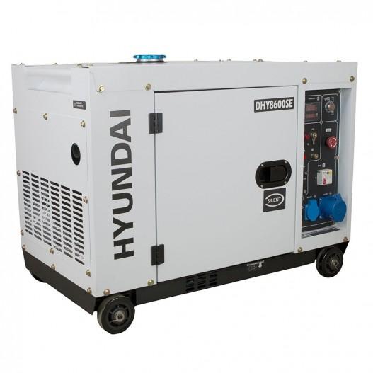 HY-DHY8600SE Generador DIésel Insonorizado Hyundai Monofásico
