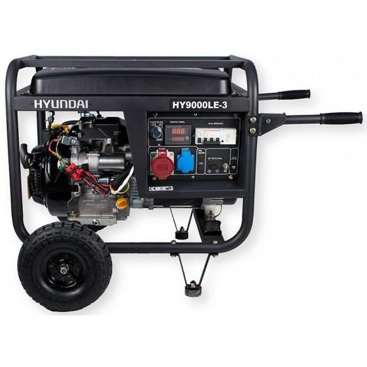 HY9000LEK-3 Generador Gasolina (Trifásico)