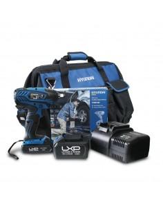 HY-COMBO-1-3 Pistola Impacto Hyundai + Batería 2Ah + Cargador + Bolsa