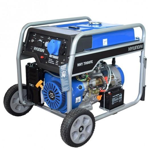HHY7000FEK Generador Eléctrico Gasolina Hyundai
