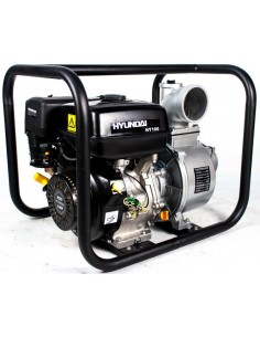 """HY100 Motobomba Gasolina HYUNDAI - Caudal / Aguas Limpias 4"""""""