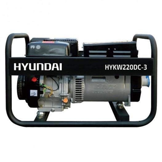 HYKW220DC Motosoldadora Gasolina HYUNDAI (c.continua)