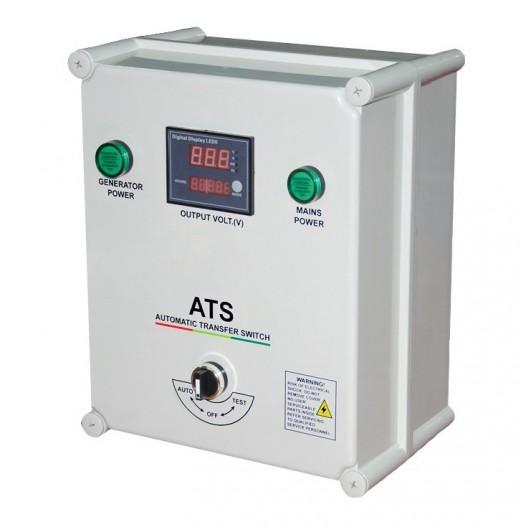 ATS 12-P Conmutador Automático para generador ( Monofásico )