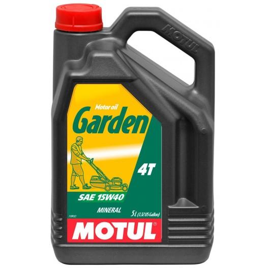 Aceite MOTUL Garden 4T  15W40 - 5L