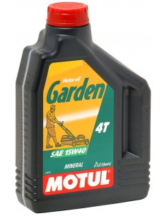 Aceite MOTUL Garden 4T  15W40 - 2L