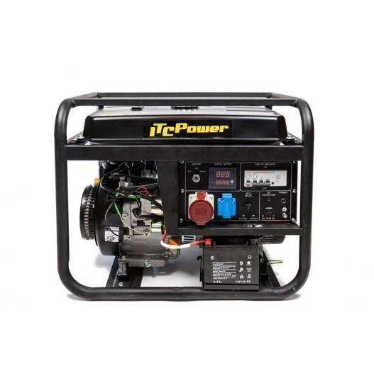 GG9000LE-3R Generador gasolina trifasico automático