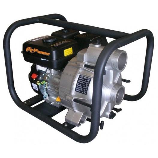 GTP80 Motobomba gasolina ITCPower aguas cargadas