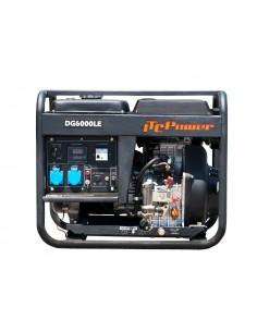 DG6000LE Generador Diesel 5 kw monofásico ITCPower