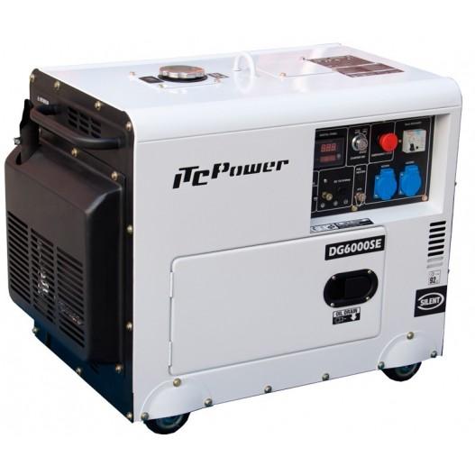 DG6000SE Generador diesel ITCPower 5,5 KW