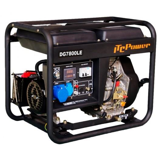 DG7800LE Generador Diesel ITCPower 6.3 kw.