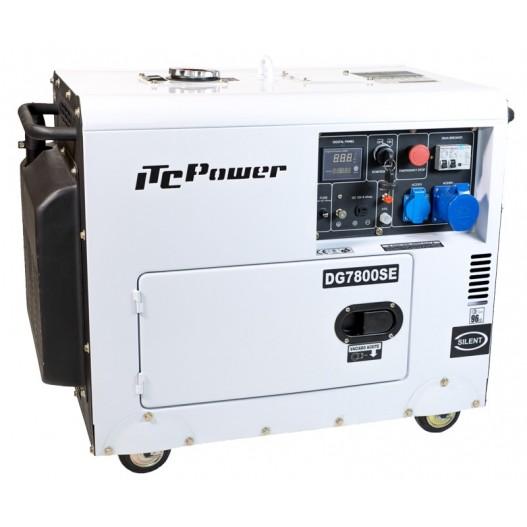 DG7800SE Generador diesel ITCPower