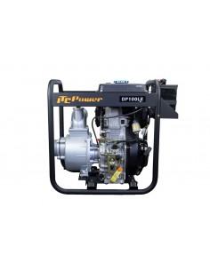 DP100LE Motobomba diesel 100mm arranque eléctrico ITCPower